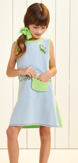 Imagem de Vestido Momi verde fluor