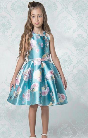 Imagem de Vestido Petit Cherie Floral Azul Tifany