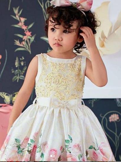 Imagem de Vestido Petit Cherie Amarelo Floral