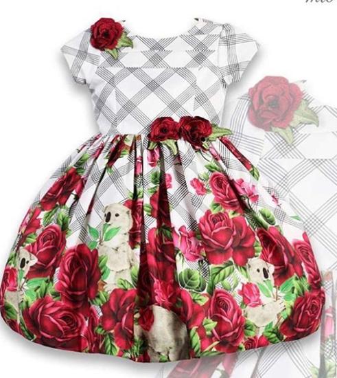 Imagem de Vestido da Mio Bebê Xadrez Coalas
