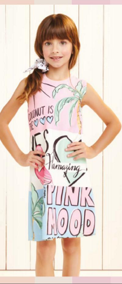 Imagem de Vestido Flamingo Rosa