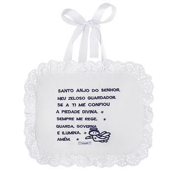 Imagem de Almofada Soninho em piquet Anjinho Branco - Roana