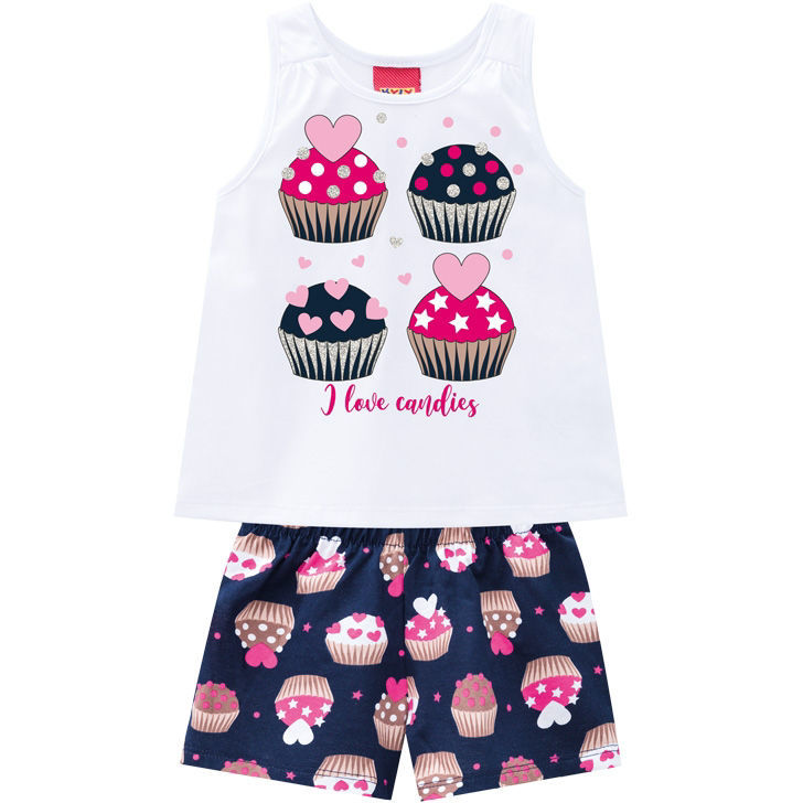 Imagem de Conjunto kyly Cupcakes