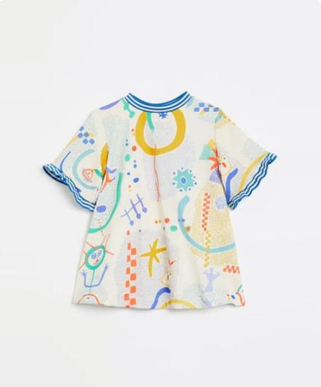 Imagem de Vestido Malha Criança Fábula