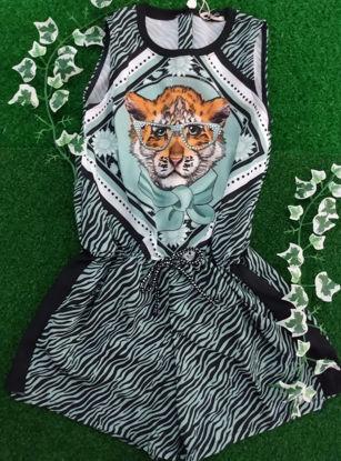 Imagem de MACAQUINHO PETIT CHERIE COM ESTAMPA ANIMAL PRINT