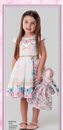 Imagem de Vestido Butterflies da Petit Cheire