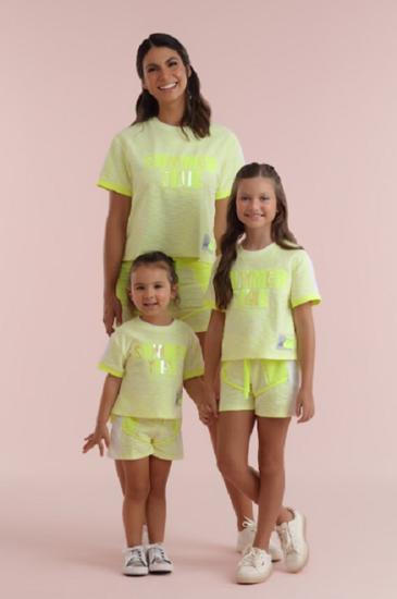Imagem de Conjunto Petit Cherie verão verde neon