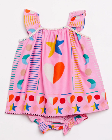 Imagem de Vestido Bebê Mil corações da A Fabula
