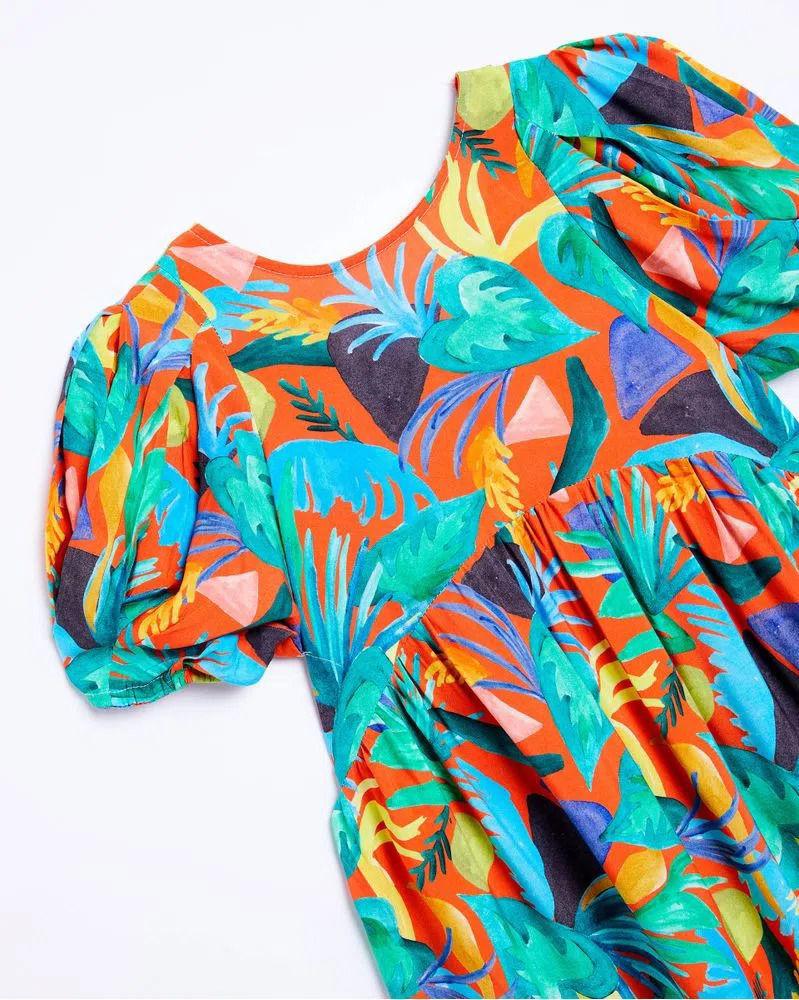 Imagem de Vestido Fábula Aquafolha