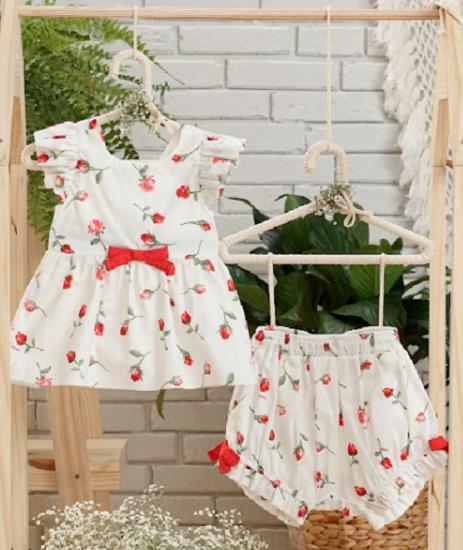 Imagem de Conjunto Verão Rosas da Petit Cherie