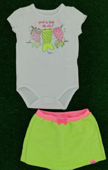 Imagem de Conjunro Short e Body Bebê